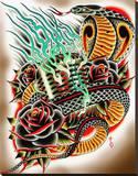 Hipnotized Stretched Canvas Print by Tyler Bredeweg