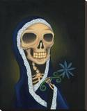 Hermana Muerta Stretched Canvas Print by Gabe Londis