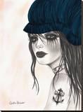 Bella Stretched Canvas Print by Dottie Gleason