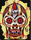 Muerto I Stretched Canvas Print by Ryan Downie