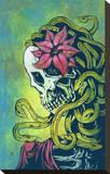 Hell Hath No Fury Stretched Canvas Print by David Lozeau