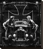 Ratrod Stretched Canvas Print by Marco Almera