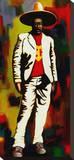 Chespirito Stretched Canvas Print by David Silvah
