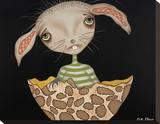 Cleo Stretched Canvas Print by Dottie Gleason