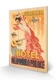 Hotel Alhambra - Palace Holzschild
