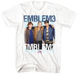 Emblem 3 - Group Photo (slim fit) T-shirts