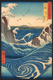 Whirlpool at Naruto, Awa Province Posters by Ando Hiroshige