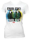 Juniors: Emblem 3 - Multi Group Photo T-Shirt