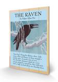 The Raven Panneau en bois