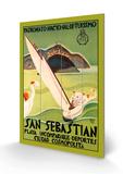 San Sebastian Træskilt