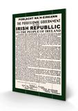 Irish Republic Wood Sign