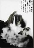 Chinese Drawing Stretched Canvas Print by Chris Kape