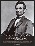 Freedom: Abraham Lincoln Art