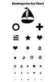 Kindergarten Eye Chart Poster