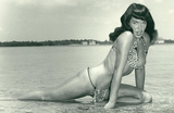 Bettie Page Summer Sun Bettie Pin-Up Posters