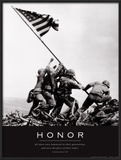 Honor: Iwo Jima Poster