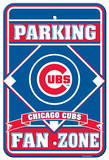 Chicago Cubs Fan Zone Parking Sign Wall Sign