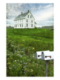 Hilltop Saltbox Photographic Print by Doug Landreth