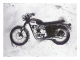 Moto Black Reproduction procédé giclée par JB Hall