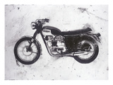 Moto Black Giclee Print by JB Hall