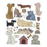 Doggies Giclee Print by Kate Endle