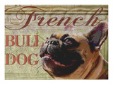French Bulldog Giclee Print by Wendy Presseisen