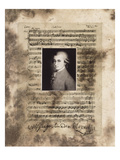 Principles of Music-Mozart Photographic Print by Susan Hartenhoff