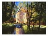 Castillo de Annecy Pósters por Max Hayslette