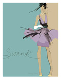 Swank Giclee Print by Ashley David