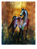 unbridled II Giclee Print by Annrika James