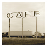 Cafe Truckstop Photographic Print by TM Photography