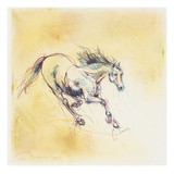 Horse studies 2, Fran Gyn Giclee Print by  Porter Design