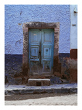 Blue Door 2 Photographic Print by Doug Landreth