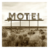 Motel Sign Papier Photo par TM Photography