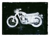 Moto White Affiches par JB Hall