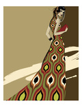 Fashionista I Giclee Print by Ashley David