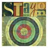Stay on Target Giclee Print by Stella Bradley