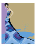 Fashionista II Giclee Print by Ashley David