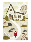 Bus Stop Giclee Print by Kate Endle