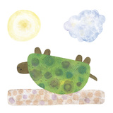 Turtle Giclee Print by Kate Endle