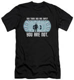 Star Trek Into Darkness - Not Safe (slim fit) Shirts
