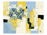 Petites Marguerites Blanches Giclee Print by  Vilbo