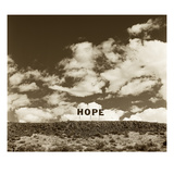 Hope Sign Photographic Print by TM Photography