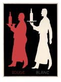 Rouge & Blanc Giclee Print