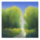Summer Road Print by Teri Jonas