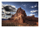 Red Mountain Photographic Print by Jamie Cook