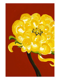 Yellow Chrysanthemum Posters by Soraya Chemaly