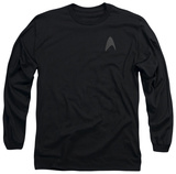 Long Sleeve: Star Trek Into Darkness - Command Logo T-Shirt