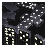 Dominoes Prints by Ray Pelley