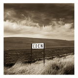 Eden Sign Photographic Print by TM Photography